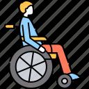 invalid, wheelchair, disability