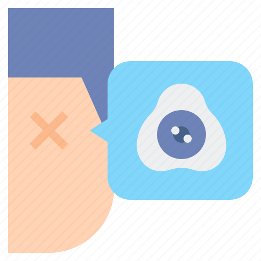 Disability, eye, prothesis icon - Download on Iconfinder