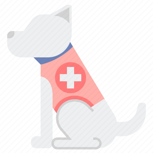 Disability, dog, service icon - Download on Iconfinder