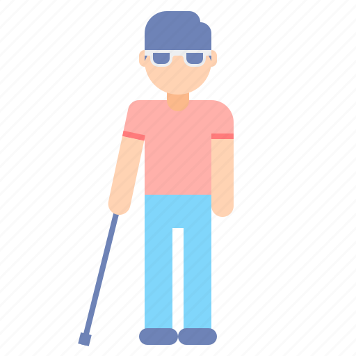 disability, impaired, visually icon