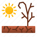 catastrophe, disaster, drought, environtment, hot, nature, sun