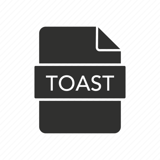 file, toast, toast disc image, toast icon icon