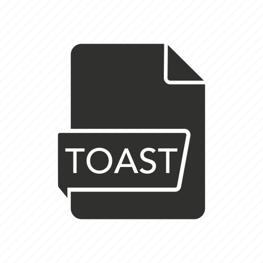 file, toast, toast disc image, toast icon icon