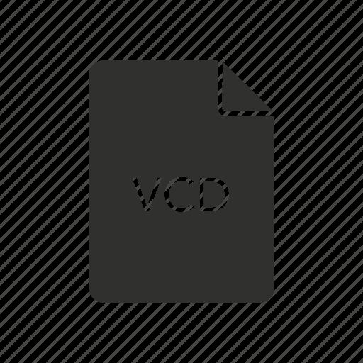 cd, file, vcd, virtual cd life icon