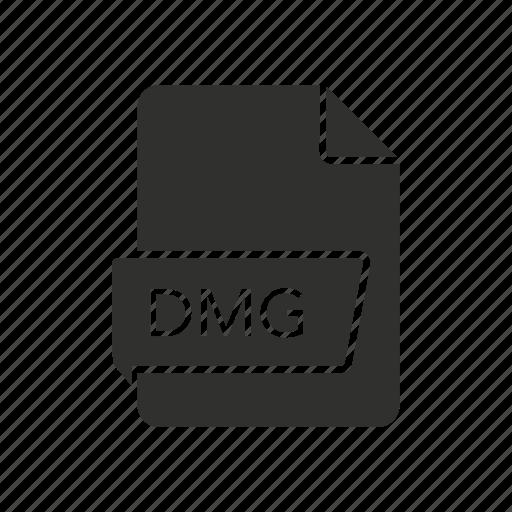 dmg, dmg icon, file, mac os x disk icon