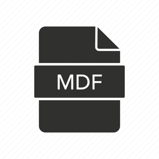 cd, mdf, mdf file, storage icon