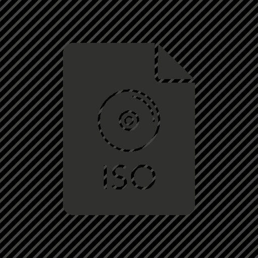 disc, international organization for standardization, iso, storage icon