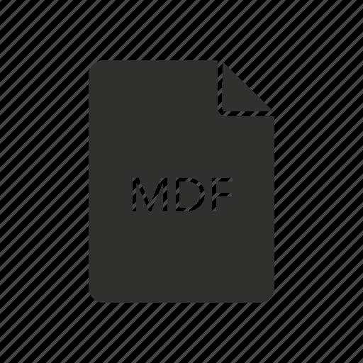 cd, mdf, mdf file, storage icon