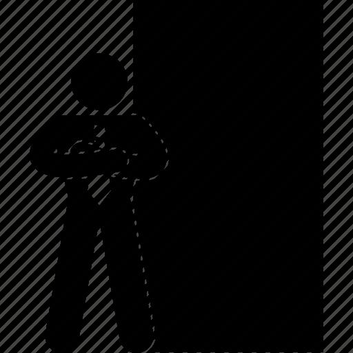 adult, club, disco, door, entrance, guard, night icon