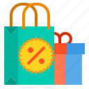bag, discount, money, percentage, sale, shopping icon