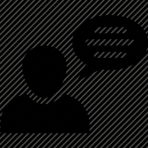 avatar speech bubble, babble, chatspeak, chatter, speech icon