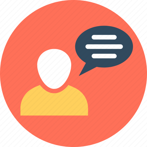 avatar speech bubble, babble, chatspeak, chatter, speech icon