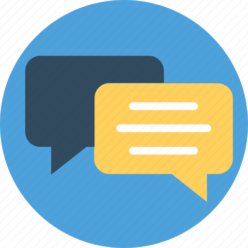 chat sign, chatbox, chatting, chit chat, speech bubble icon