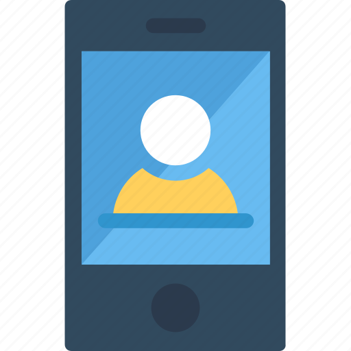 mobile chatting, mobile conversation, mobile ui, online call, video call icon