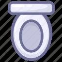 bathroom, constipation, lavatory, loo, restroom, toilet, washroom icon