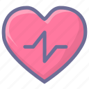 heartbeat, hypertension, pulse icon