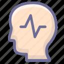 brain, encephalon, epilepsy, harns, pericranium icon