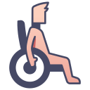 disability, disabled, health, medical, people, person, wheelchair icon