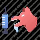animal, disease, dog, health, rabies, vaccine, virus
