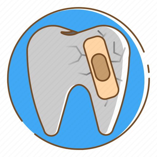 dental, healthcare, medical, tooth, toothache icon