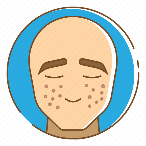 Acne, healthcare, medical, pimples, smallpox icon - Download on Iconfinder