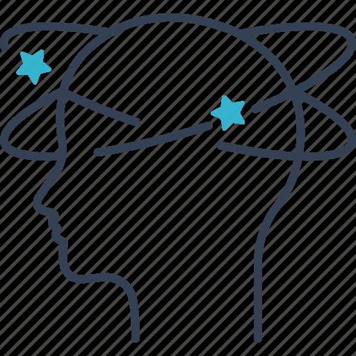 brain, diseases, medicine icon