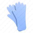 disinfection, gloves, hand, medical, rubber, water icon