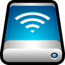 airport, drive, external, storage, wifi, wireless icon