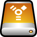disk, drive, external, firewire, storage, usb icon