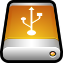 data, disk, drive, external, guardar, save, storage, usb icon