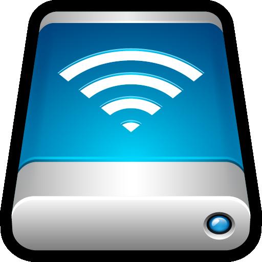 airport, drive, external, storage, wifi, wireless icon