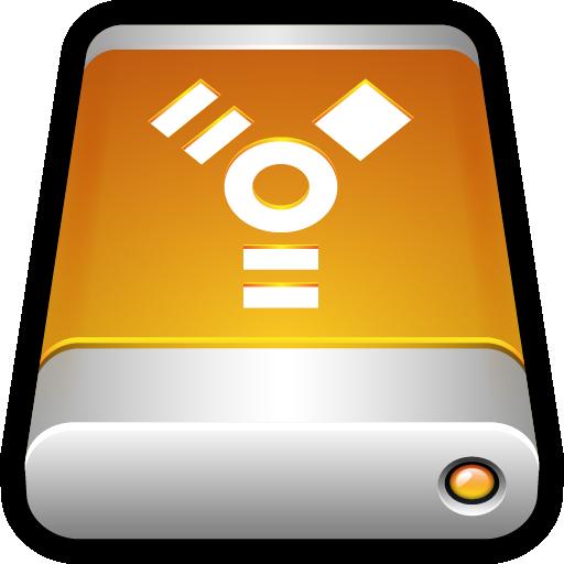 disk, drive, external, firewire, storage, usb icon