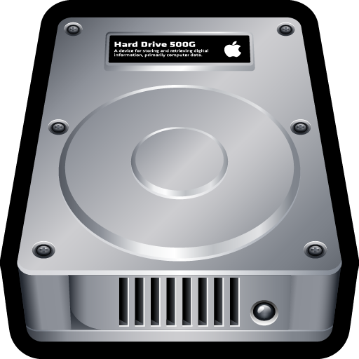 disk, drive, internal, mac, storage icon