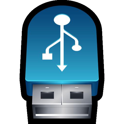 disk, drive, flash drive, storage, usb icon