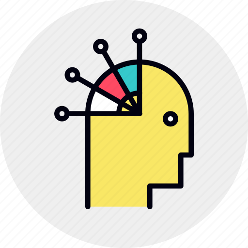mapping, mind, options icon