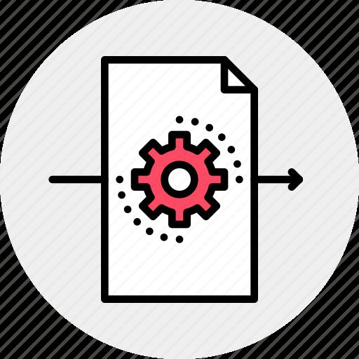 editing, file, working icon