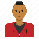avatar, casual, man, person, user icon