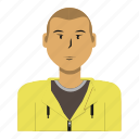 asian, avatar, casual, man, person, sport, user icon