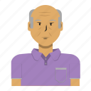 asian, avatar, man, old man, person, user