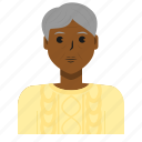 avatar, old woman, person, user, woman icon