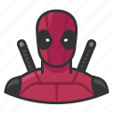 comics, deadpool, hero, super icon