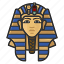 egypt, king, tutankamen, pharaoh