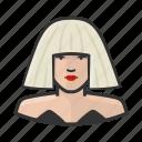 gaga, lady, musician, popstar, singer icon