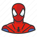 comics, spiderman, superhero icon