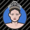 pageant, princess, royalty, tiara, woman