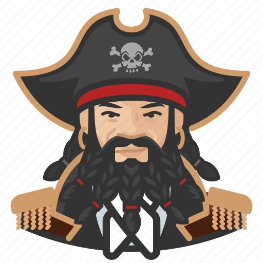 Asian, avatar, man, pirate icon - Download on Iconfinder