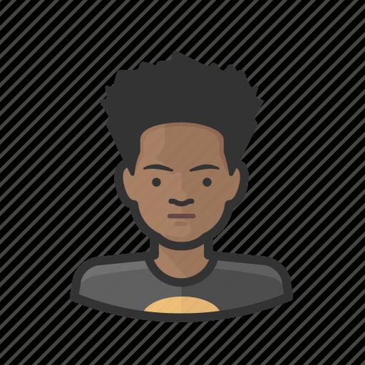 adolescent, aging, avatar, male icon