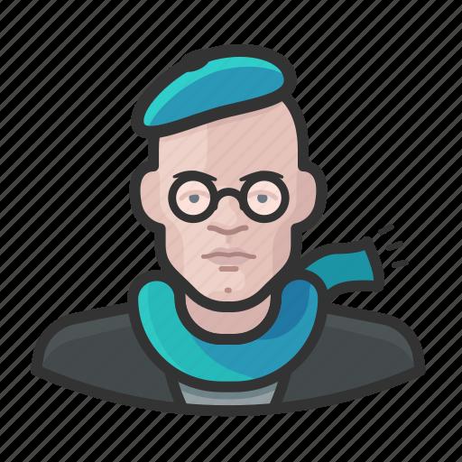 artist, avatar, male, man icon