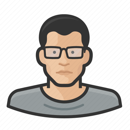 Asian, avatar, glasses, man icon - Download on Iconfinder