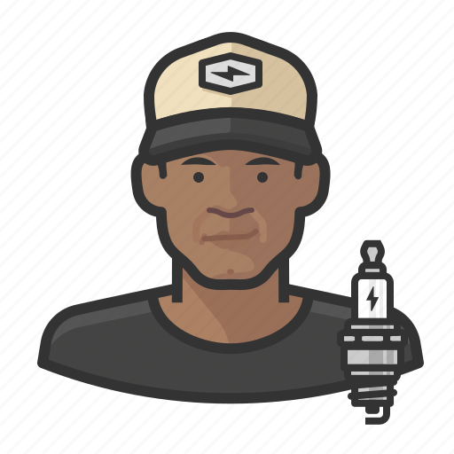 avatar, male, man, mechanic, person icon